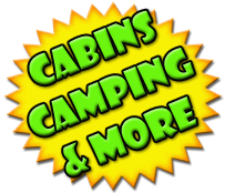 Camping, Cabins, and more